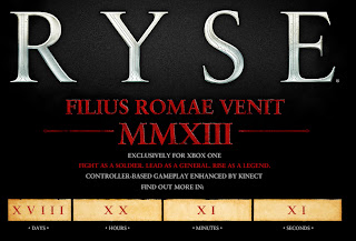ryse web site Ryse (XBO)   Exclusive Roman Warrior Game Confirmed for Xbox One