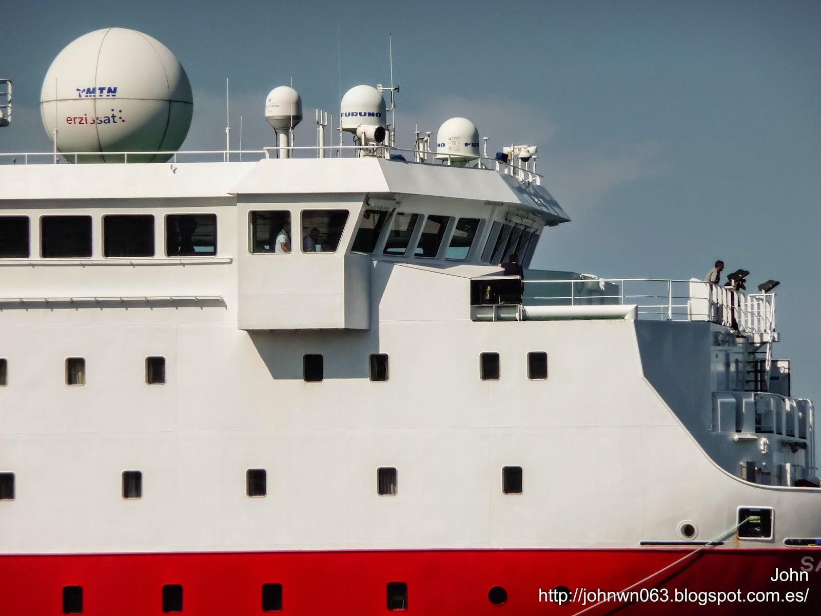 fotos de barcos, imagenes de barcos, sarmiento de gamboa, oceanografico, csic, vigo