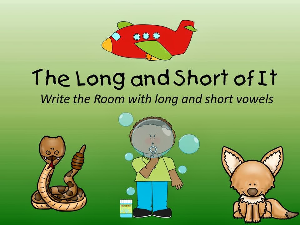 http://www.teacherspayteachers.com/Product/The-Long-and-Short-of-It-Write-the-Room-with-Long-and-Short-Vowels-1113603