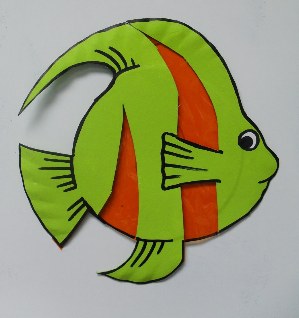 Hereu0027s a fish project to put in the window. This project is made from a paper plate ... & Craft with Jack: See-through Fish