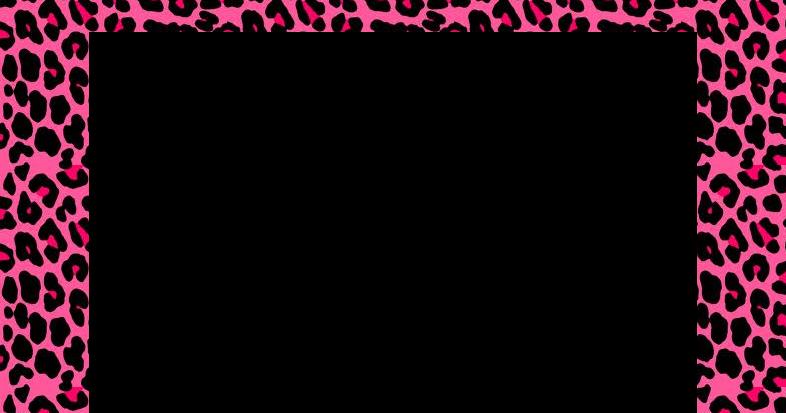 Molduras Para PhotoScape: Moldura De Onça e Onça Com A Barbie Barbie