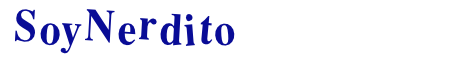 Soynerdito's Blog