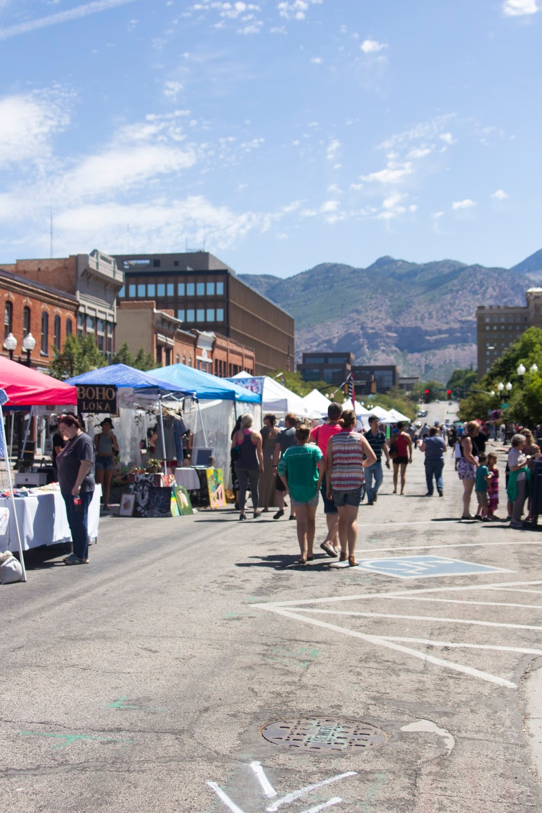 Ogden Farmers Market on 25th Street