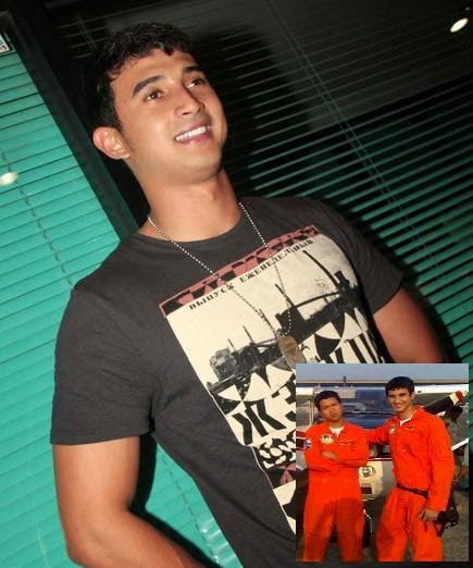 Foto Ali Syakieb saat Pendidikan Pilot