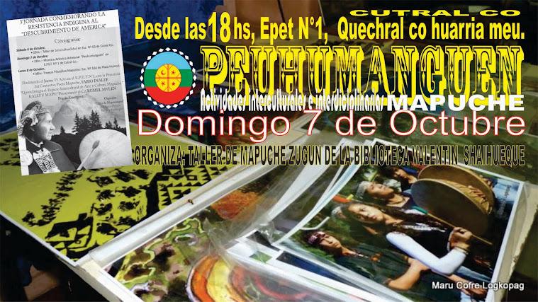 Afiche de la actividad en Quechral Co (Cutral co)