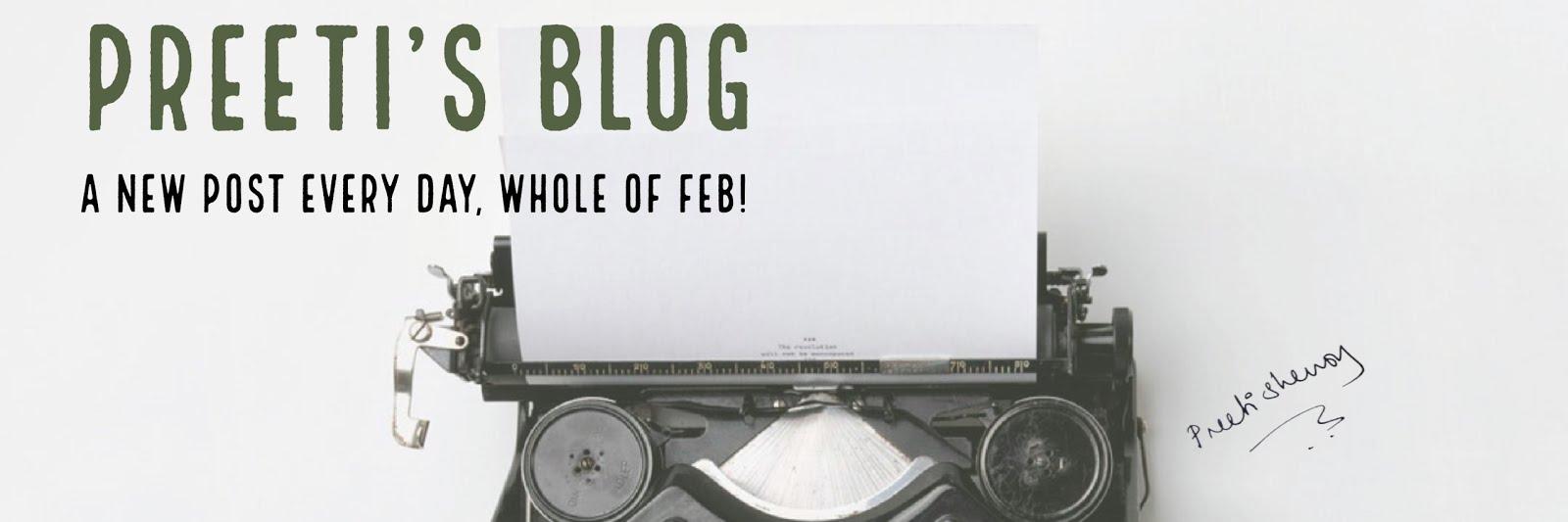 Preeti Shenoy's blog.