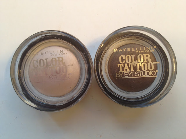 Maybelline Color Tattoo Limited Edition Barely Beige and Rich Mahogany