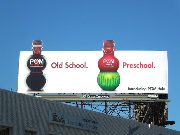 Pom Hula Preschool billboard