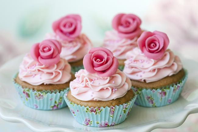 Minha Princesa Sophia: Cupcakes de Baunilha - receita