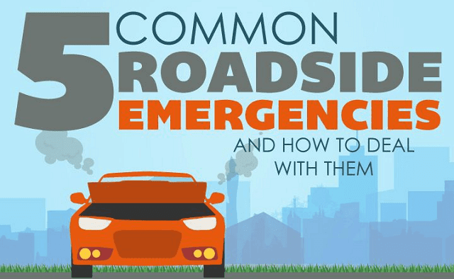 5 Roadside Emergencies and How to Deal With Them