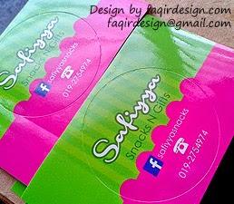 Sticker Bulat 5cm x 5cm