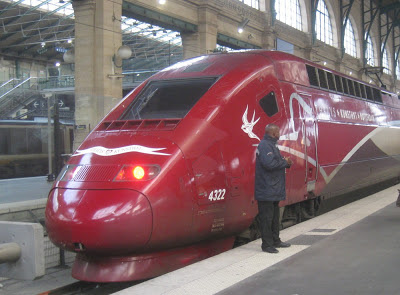Thalys am Gard du Nord Paris