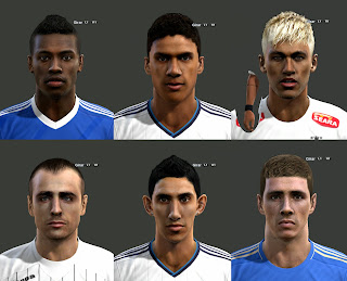Facepack PES 2013 by M4rc310