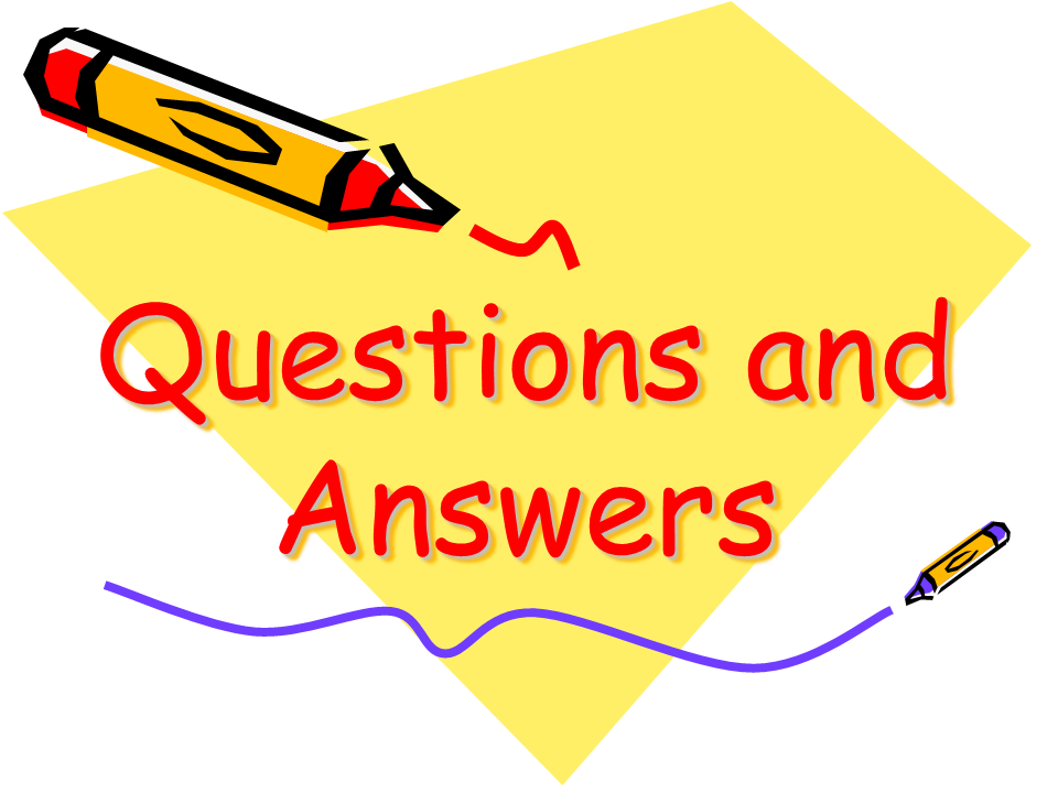 Questions And Answers Png Possible questions grade 1-3Questions And Answers Session
