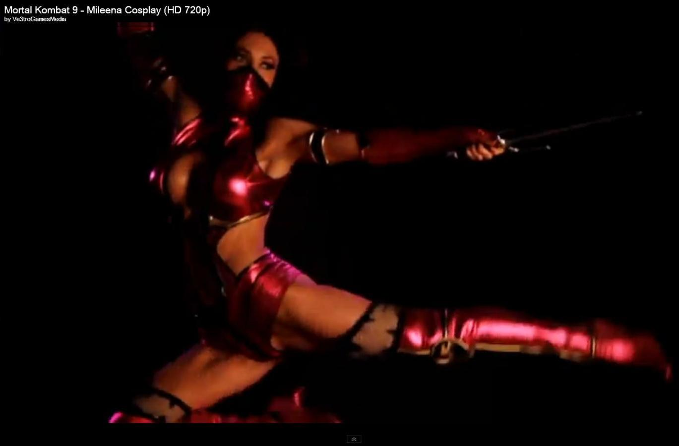 download this Video Game Boobs Mortal Kombat Kitana Nude Cosplay picture