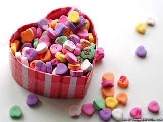 Colorful Valentine Basket