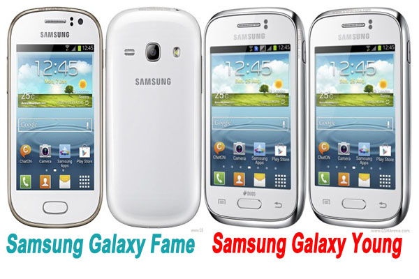 Samsung Galaxy Fame harga, price, specs, spesifikasi - Samsung Galaxy Young