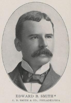 1898 Revenues Philadelphia Stock Brokers Edward B Smith