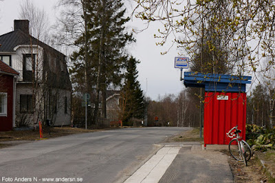 busshållplats Norrbotten