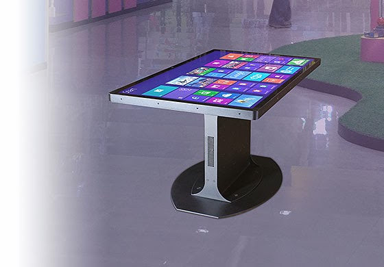 Numeris Media Multi Touch Coffee Table