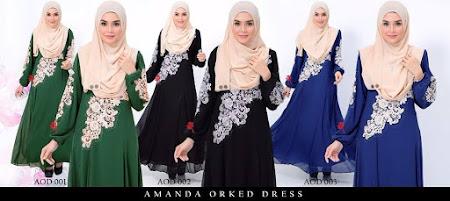 Jom Dapatkan Amanda Dress Exclusive Dengan Harga Yang Sangat Berpatutan