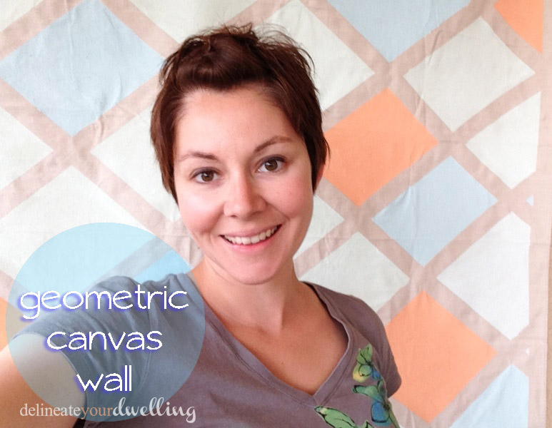 Geometric Canvas Wall - Delineate Your Dwelling