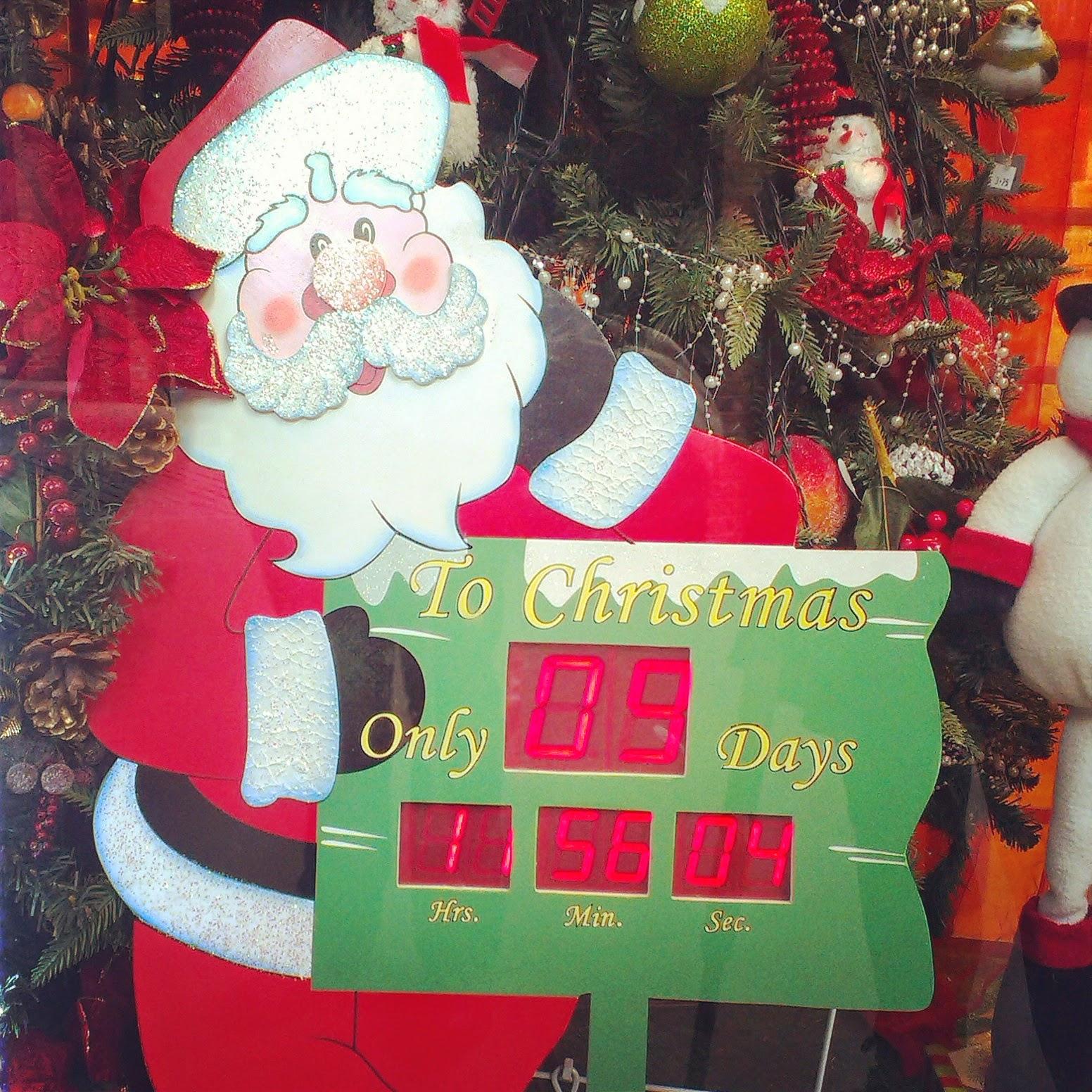 Days left till Christmas