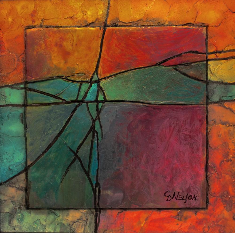 CAROL NELSON FINE ART BLOG Gemstone 13 Acrylic Abstract