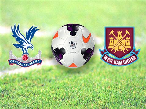 West Ham enfrenta equipe do Crystal Palace dentro de casa