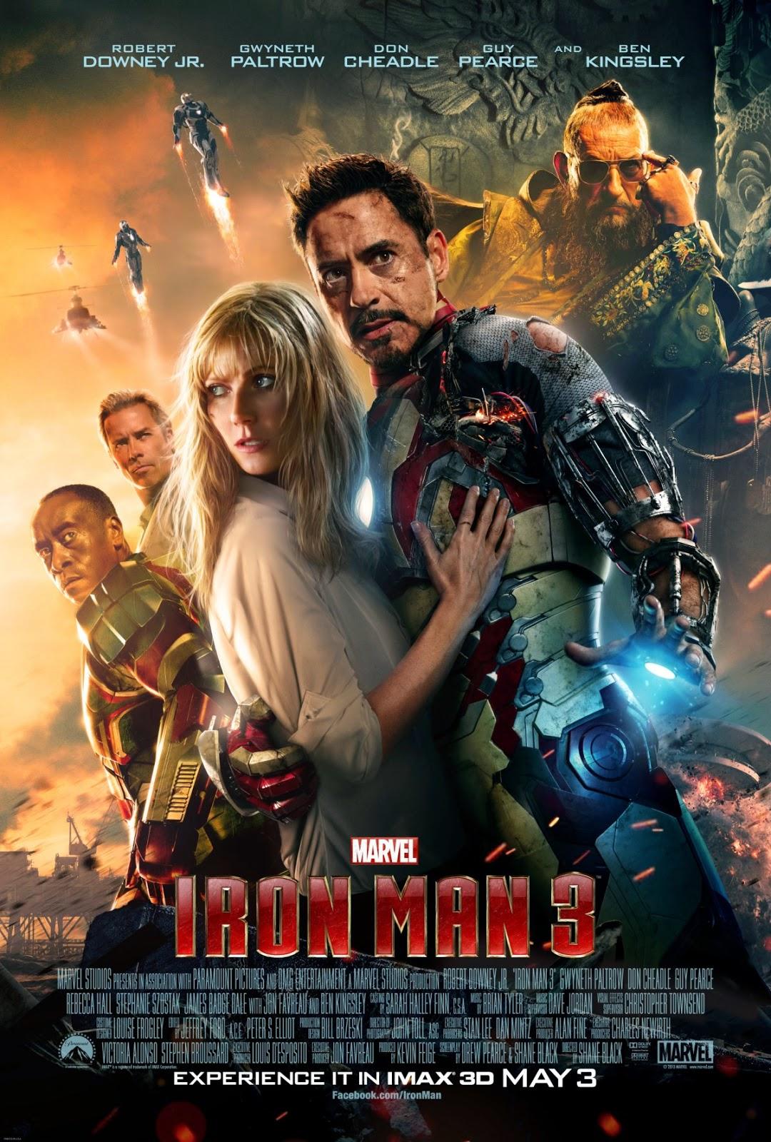 Người Sắt 3 - Iron Man 3 (2013) Poster
