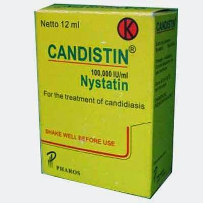 Dosis Obat CANDISTIN  (Nystatin)
