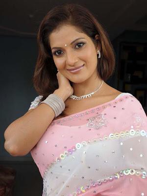 ruthika in saree latest photos