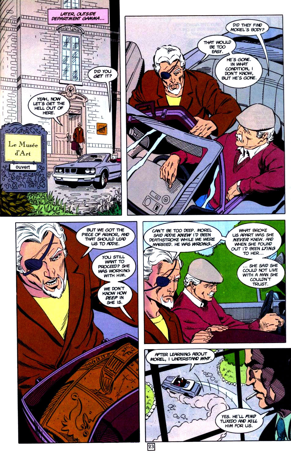 Deathstroke (1991) Issue #32 #37 - English 24