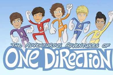 One Direction, ¡Tiene su propia caricatura!