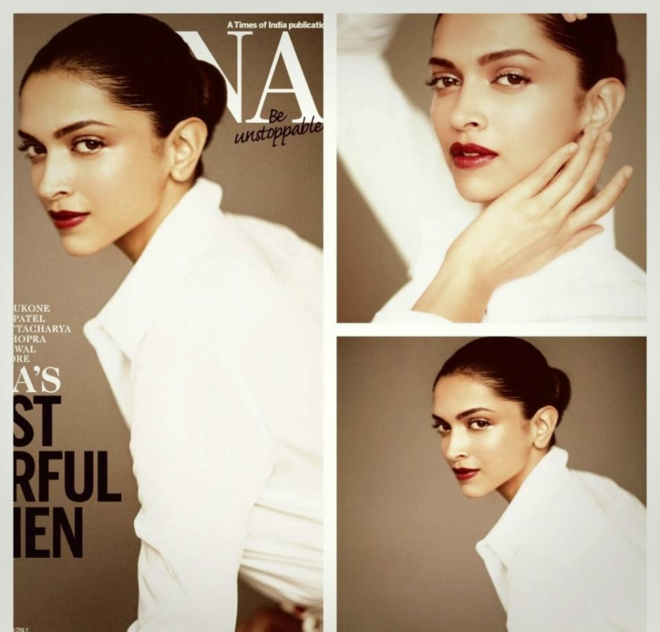 Deepika Padukone on Femina India Magazine September 2014