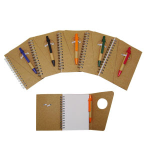 CENTRUM LINK - NEW - ECO GIFTS - Notebook With Pen