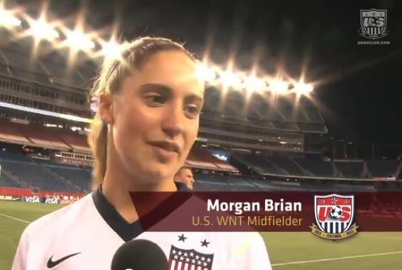 Morgan Brian USWNT