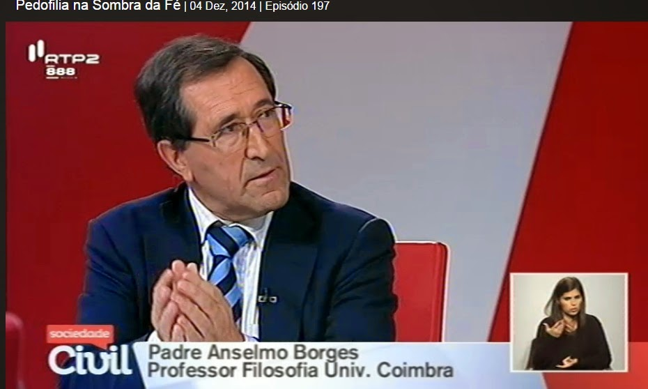 Resultado de imagem para Anselmo Borges