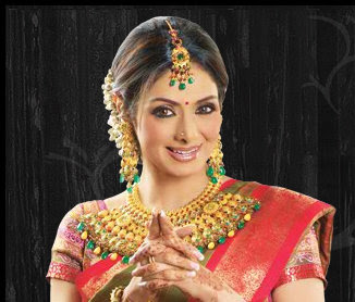 Actress Sri Devi - Bridal Jewells photo