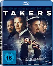 Takers 2010 Dual Audio 720p BRRip 700mb