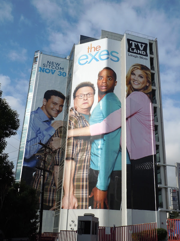 Giant The Exes TV Land billboard