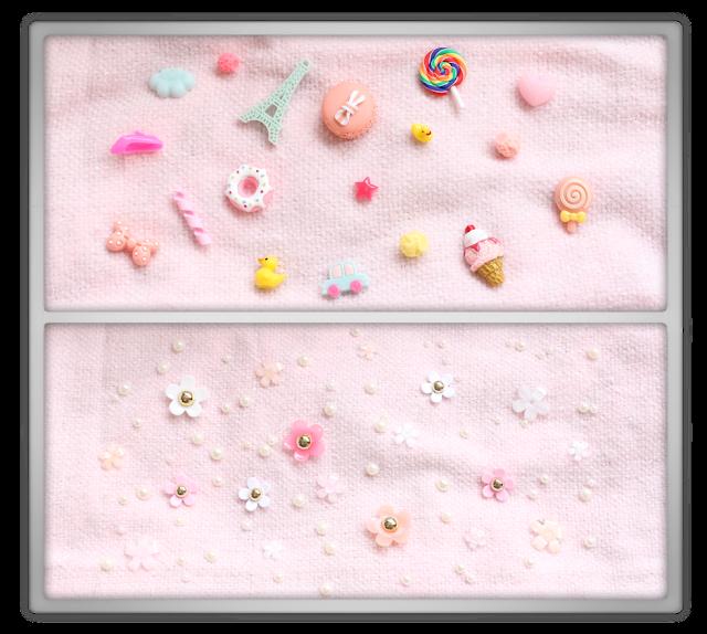 Etude House Decoden Kit Stuff Haul Short Review eat play love flower holic  Secret Eyelash Curler round eyes bus card holder