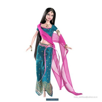 Barbie doll in Indian Dress
