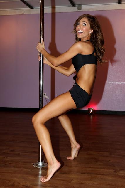 Farrah Abraham Feets pole dancing