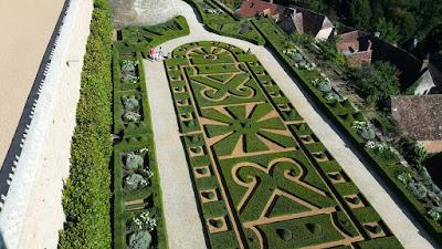 Jardins del Château de Hautefort