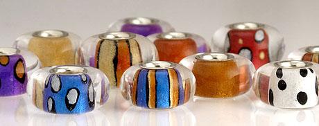 Mica Lustre Beads