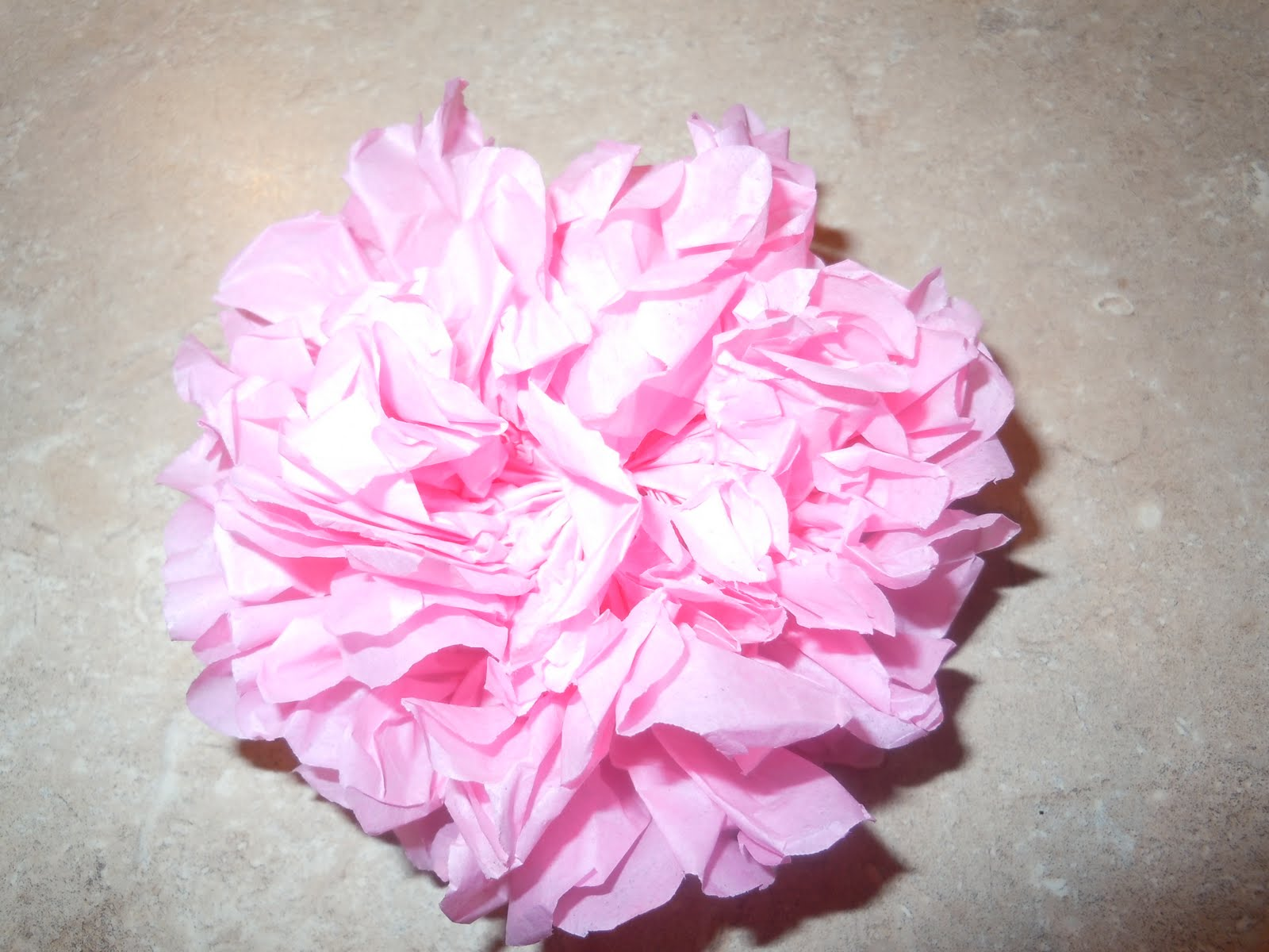 Bowman Crafts Easy Tissue Paper Flowers