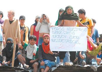 los 93 presos en Chunchucoro la cárcel de máxima seguridad de La Paz