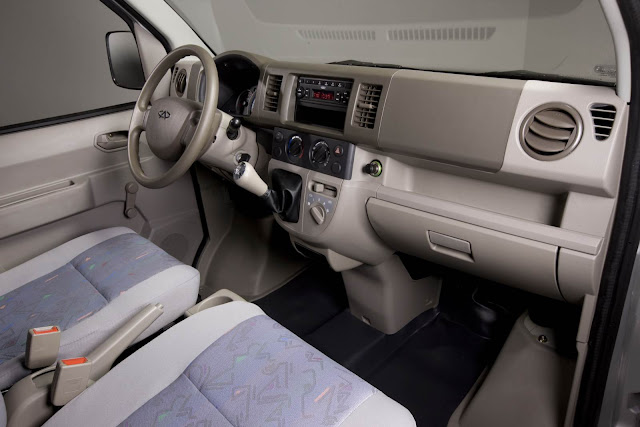 Chery Rely pick-up - interior