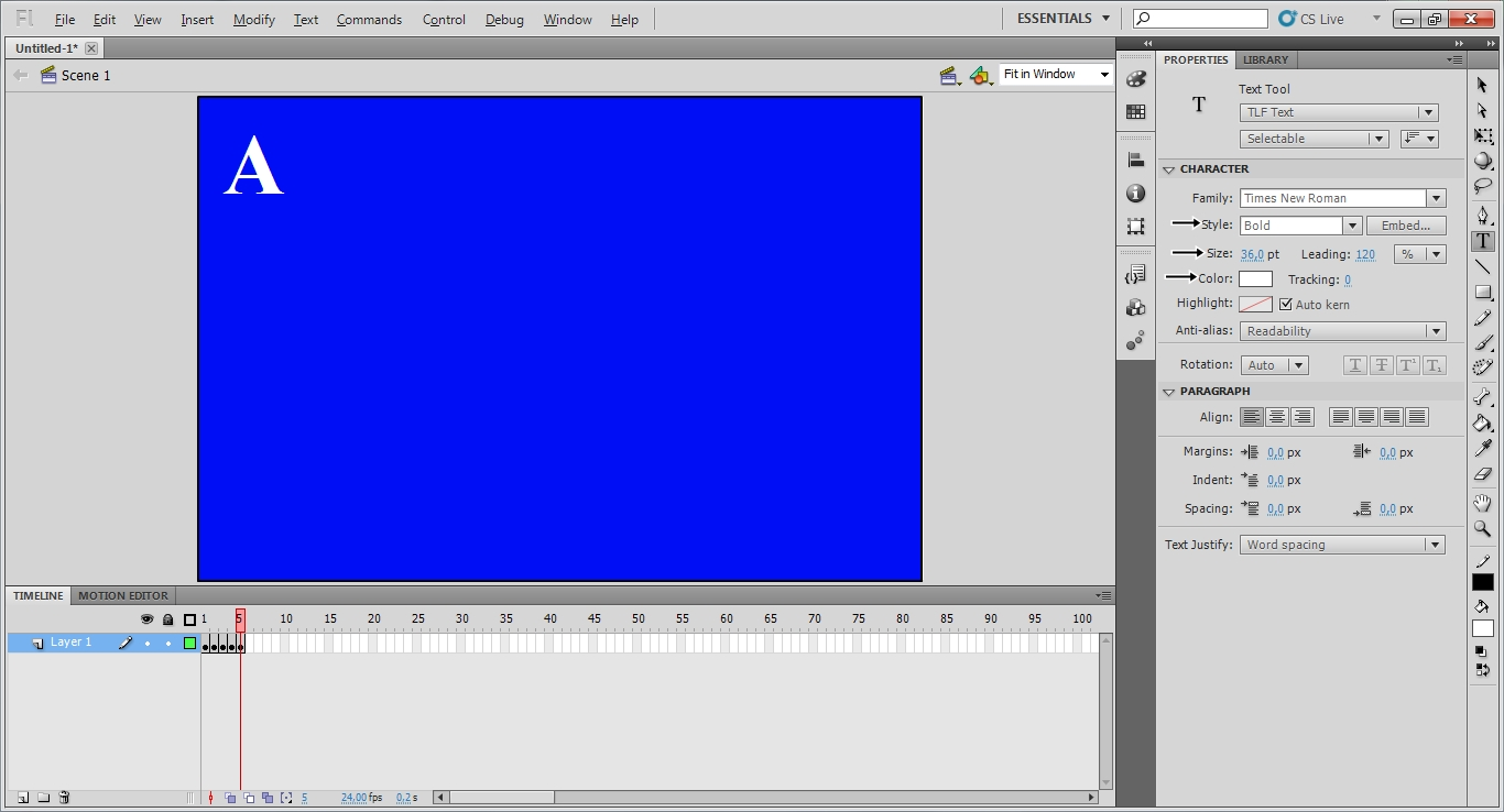 Animasi Text Pada Adobe Flash Share Sandi